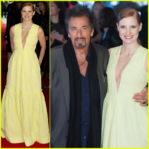 Jessica Chastain & Al Pacino Premiere 'Salome' in London