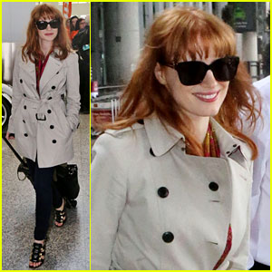 Jessica Chastain Calls Nude Photo Leak an 'Invasion of Privacy'