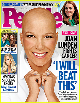 Former 'GMA' Host Joan Lunden Displays Bald Head After Bravely Shaving Off Her Hair