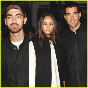 Joe Jonas Attends 'Public School' with Jesse Metcalfe & Cara Santana