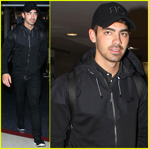 Joe Jonas Returns to Los Angeles After Spending Time with Gigi Hadid in NYC