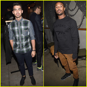 Joe Jonas & Michael B. Jordan Help 'GQ' & Gap Celebrate Best New Menswear Designers!