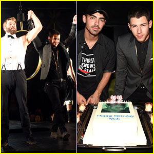 Nick & Joe Jonas Are Queens of the Night in NYC!