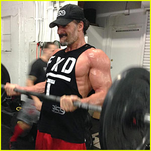 Joe Manganiello Gets Even More Ripped For 'Magic Mike XXL'
