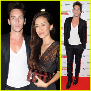 Jonathan Rhys Meyers Makes First Official Appearance with Girlfriend Mara Lane