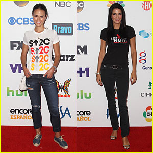 Jordana Brewster & Angie Harmon Take On Social Media For Stand Up to Cancer 2014