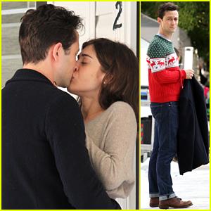 Joseph Gordon-Levitt & Lizzy Caplan Spotted Sharing a Steamy Kiss!