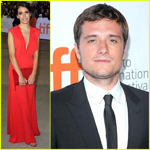 Josh Hutcherson & Girlfriend Claudia Traisac Premiere 'Escobar' At TIFF 2014