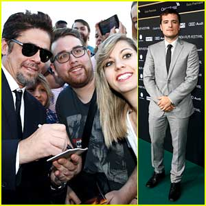 Josh Hutcherson Raves About Working With Benicio Del Toro