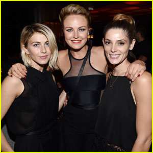 Julianne Hough, Malin Akerman, & Ashley Greene Are the Women in Black at Katy Perry's Concert