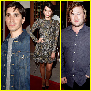 Justin Long & Haley Joel Osment Keep It Casual for 'Tusk' Los Angeles Premiere!