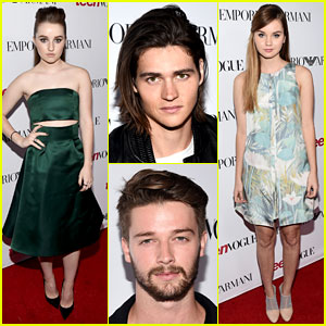 Kaitlyn Dever & Will Peltz Have a Mini 'Men, Women, & Children' Reunion at Teen Vogue Party!