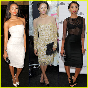 Kat Graham Hits Up Three NYFW Shows All in One Day
