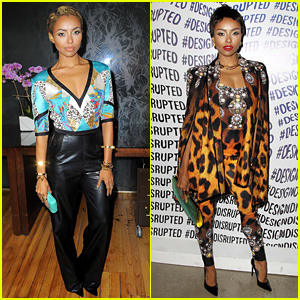 Kat Graham Hits Up More Fashion Shows for NYFW!