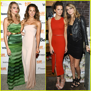 Kate Beckinsale & Cara Delevingne Buddy Up for 'Face of an Angel' TIFF Premiere & After-Party