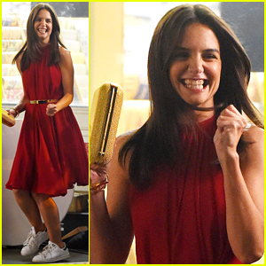 Katie Holmes Dances & Gets Groovin' on Set - See the Fun Pics!