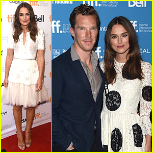 Keira Knightley & Benedict Cumberbatch Talk Fake Twitter Accounts at Toronto Film Festival