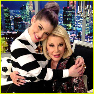 Kelly Osbourne Pays Tribute to Joan Rivers with Touching Post