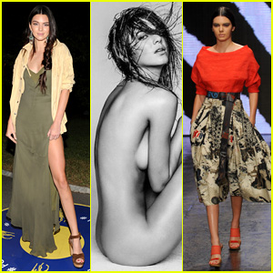 Kendall Jenner Poses for Nude Shoot Amid NYFW Craziness