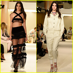 Kendall Jenner Puts Lots of Skin on Display for Sonia Rykiel's Fashion Show