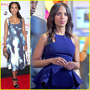 Kerry Washington Helps Launch Limited's 'Scandal' Fashion Line
