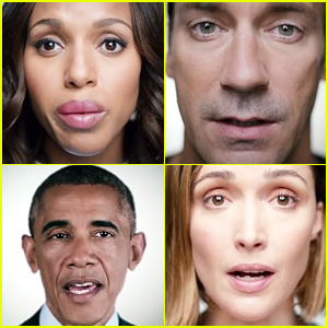 Kerry Washington, Jon Hamm, & More Celebrities Take a Stand Against Sexual Violence (Video)