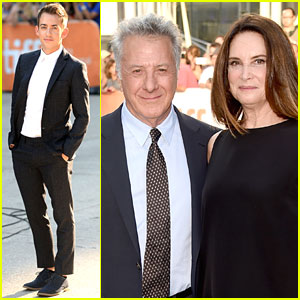 Kevin McHale Joins Dustin Hoffman for 'Boychoir' Premiere!