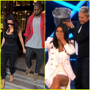 Kim Kardashian Finally Does the Ice Bucket Challenge - Watch the Teaser Clip!