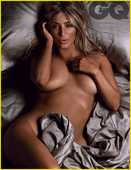 Kim Kardashian Poses Totally Naked, Talks 'Amazing Sex Life' with Kanye West for 'British GQ'