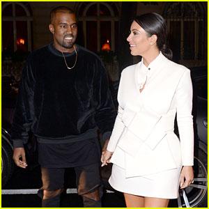 Kim Kardashian & Kanye West Can't Stop Smiling After North's Fashion Week Debut!