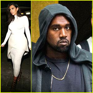 Kim Kardashian & Kanye West Spend Some Time Apart in Sydney