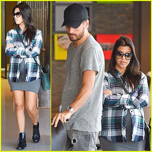 Kourtney Kardashian & Scott Disick Go Furniture Shopping For Expanding Family
