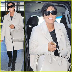 Kris Jenner Looks Happy After Filing For Divorce From Bruce Jenner