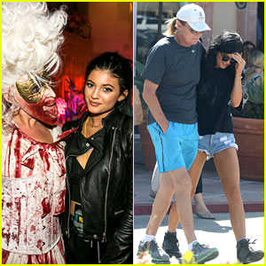Kylie Jenner Skips Paris Trip, Spends Time with Bruce Jenner