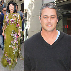 Lady Gaga Supports Boyfriend Taylor Kinney's 'Chicago Fire' Before Third Season Premiere