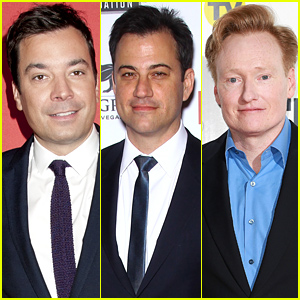 Late Night Hosts Jimmy Fallon, Jimmy Kimmel, & Conan O'Brien Take On the Celeb Nude Photo Hack - Watch Now!