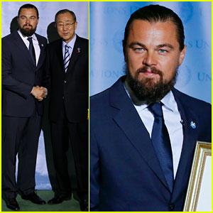 Leonardo DiCaprio Gets UN Messenger of Peace Honor