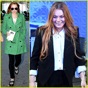 Lindsay Lohan Makes West End Debut - See Curtain Call Pics!