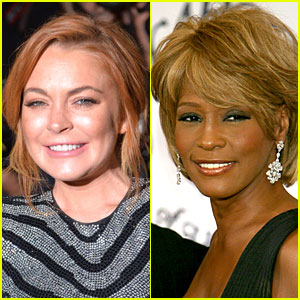 Lindsay Lohan Says She Handled Whitney Houston's Body Bag at the Morgue