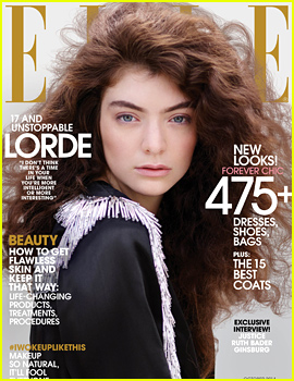 Lorde Talks Being a Famous Teen in Elle's October 2014 Issue