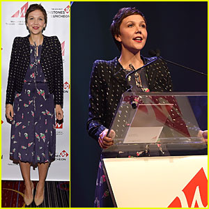Maggie Gyllenhaal Brings Star Presence to Women in Cable Telecommunications Luncheon