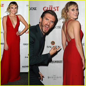 Maika Monroe Impresses Dan Stevens at 'The Guest' Premiere