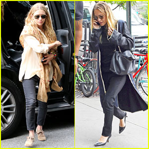 Mary-Kate & Ashley Olsen Do Some Intense Posing for a Vine