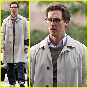 Matthew McConaughey Films a Sullen Scene for 'The Sea of Trees'