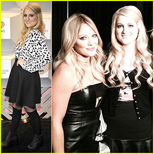 Meghan Trainor's Life Is Complete After Meeting Hilary Duff at iHeartRadio Music Festival 2014