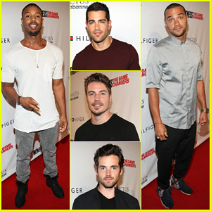 Michael B. Jordan & Jesse Williams Step Out for Ultimate Stud Fest at 'Men's Fitness' Game Changers Party 2014