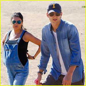 Pregnant Mila Kunis & Ashton Kutcher Spend Time Together Before the Baby Arrives!