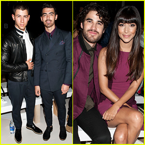 Nick & Joe Jonas Bring the Handsome to the Richard Chai NYFW Show