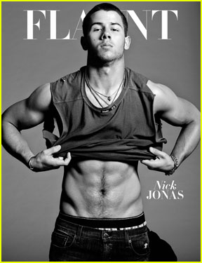 Nick Jonas Flaunts Abs & Muscles On New Magazine Cover