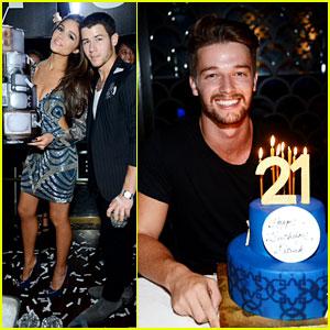 Nick Jonas & Patrick Schwarzenegger Celebrate Birthdays in Vegas!